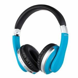 Wireless Bluetooth Headphones Stereo Gaming Headset Foldable Earphones FM Mic TF