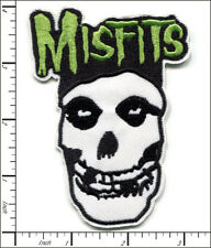 20 Pcs Embroidered Iron on patches Misfits Skull Punk AP021gA