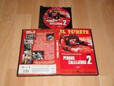 EL TORETE PERROS CALLEJEROS 2 PELICULA DVD DEL DIRECTOR JOSE ANTONIO DE LA LOMA
