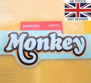 Honda Monkeybike Decal Sticker Monkey Bike Z50 ORANGE ** GENUINE HONDA **