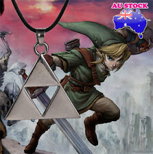 Wholesale New The Legend Of Zelda Triforce Pendant Silver Necklace Jewelry Gift