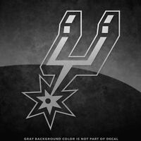 "San Antonio Spurs NBA Vinyl Decal Sticker - 4"" and Larger - 30+ Color Options!"