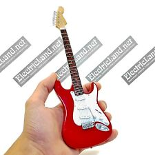 Mini Guitar scale 1:4 MARK KNOPFLER dire straits miniature gadget collectible