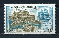 S11369) France MNH 1976, Port Louis - Ship 1v
