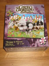 """GREG GIORDANO COLLECTION """"SHAGGY & FRIENDS"""" 500 PIECE PUZZLE"""