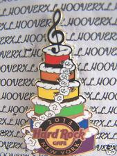 2013 HARD ROCK CAFE NEW YORK CITY GAY PRIDE RAINBOW BIRTHDAY CAKE LE PIN