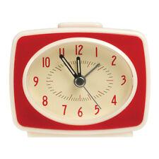 dotcomgiftshop RETRO TV STYLE RED ALARM CLOCK
