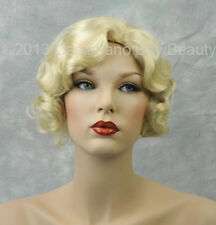 Beautiful Pale Blonde Finger Wave 1920s, 1930s Roxie Flapper Wig!