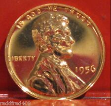 1956 Lincoln Wheat Cent  Proof