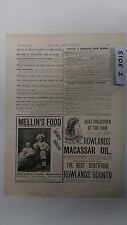 Mellin's Food: Lipton's In The Jam Trade: 1894 Black & White Magazine Pages