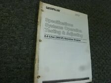 Caterpillar V40D V50D VC60D Forklift Gas Engine Shop Service Repair Manual