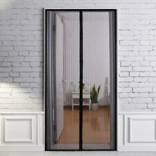 Reinforced Magnetic Screen Door Mosquito Patio Screens Magic Mesh Easy to Clean