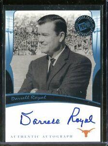 Darrell Royal 2006 Press Pass Legends Auto Card Autograph Texas Longhorns