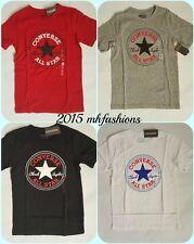 Converse Boys Chuck Taylor All Star Short Sleeve Crew Neck T Shirt