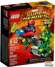 *New* Lego Spider-man vs. Scorpion Mighty Micros Avengers 76071 Spiderman Super