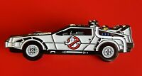 Ghostbusters Pin ECTO 1 Car Cult Classic Movie Enamel Metal Brooch Badge Lapel