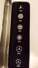Mercedes Benz Car Emblem Logo Symbol Collectibles Pins Set 1909-1989 New Germany