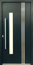 Door External Solid WH 75 LA122 Entrydoor Modern Aluminum + UPVC WELTHAUS London