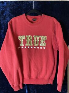 San Francisco 49ers TRUE sweatshirt Hip hop Street Wear 2011 VTG BB Niners Med