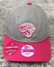 New Era 9Forty Jacksonville Jaguars Breast Cancer Gray/Pink Strapback NFL HAT