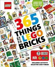 365 Things to Do with LEGO Bricks by Simon Hugo (2016, Hardcover)