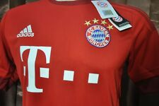 Bayern Munchen Shirt Home 2015-2016, sz Small *Adult (New) with Vynil, Very Rare