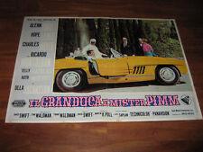 IL GRANDUCA E MISTER PIMM,AUTO CAR,mercedes,1 EDIZ.1963