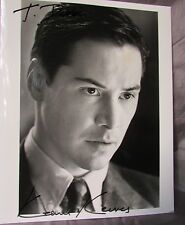 KEANU  REEVES SIGNED 1997 ORIGINAL PHOTO DEVIL'S ADVOCATE PHOTO BY BRIAN HAMILL