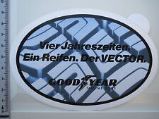 Decal Sticker GOODYEAR VECTOR TYRES-ALL WEATHER-Summer-Winter (1743)