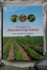 Encyclopedia of Plant and Crop Science by Robert M. Goodman Hardcover Book