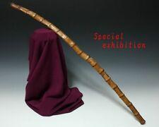 Japan Antique Edo Whip Saihai baton horse Koshirae tsuba samurai yoroi emperor