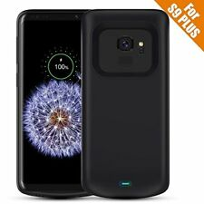 Samsung Galaxy S9 Plus Battery Case Charging Cover Power Bank Backup Pack-Black