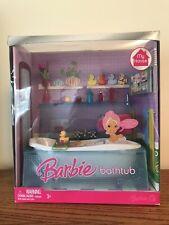 BARBIE BATHTUB 2007 MY HOUSE NIB tub furniture Bathroom accessories doll bath
