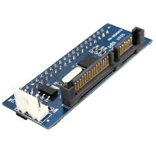 Converter 40-Pin IDE Female SATA to 22-Pin male adapter PATA SATA Card F2J8