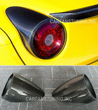 Carbon Italia Coupe&Spider Tail Light Rear Lamp Covers For 10-14 Ferrari F458