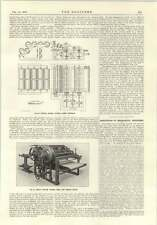 1915 Duplex SQUARE Taglierina Carta James BERTRAM