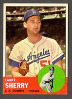 1963 Topps Baseball #565 Larry Sherry Los Angeles Dodgers - 7th Series
