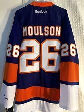 Reebok Premier NHL Jersey Islanders Matt Moulson Blue Sz 2 X