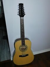 VINTAGE MITCHELL ACOUSTIC ELECTRIC 12 STRING GUITAR MD-100S-12E/N