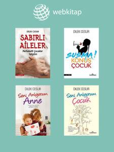 Dilek Cesur 4 Kitap Set (Yeni Türkce Kitap)