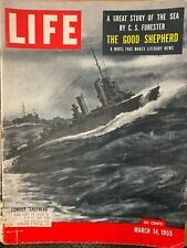 New listing The Good Shepherd Story of the Sea by C.S. Forester Life Magazine March 14 1955