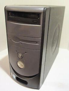 Vintage Dell Dimension B110 (Intel Celeron 2.53GHz 2GB NO HDD) Works! DE051
