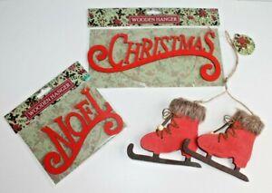 CHRISTMAS XMAS HANGING TREE HOME DECORATION * 3 Design Choices