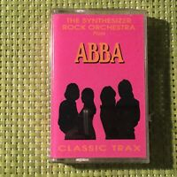 The Synthesizer Rock Orchestra Plays Abba Album on Cassette Tape, Classic Trax