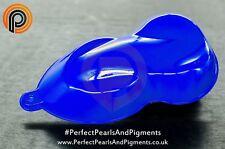 Fluorescent pigment Bleu Poudre 25g. - jour glow, peintures, vernis, art, cire et plus