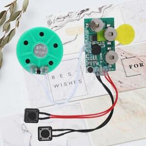 DIY Greeting Card Chip 4 minutes Recordable Voice Sound Chip Voice Greeting Card