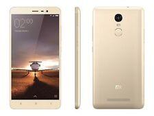 Gold Mi Redmi Note 3 32GB 3GB 16MP -Full Kit - vat bill manufacturer warranty