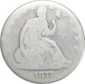 50c - Better - 1877 - Seated Liberty Half Dollar *743