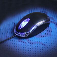 Vendita calda filo ottico 3D USB Mouse con filo per Notebook PC portatile