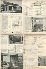 1958 Bungalow At Tollerton, Notts, Behind Priory Avenue Design, Plans